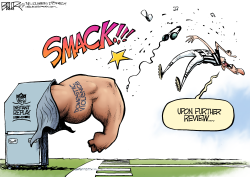 NFL Punch  by Nate Beeler
