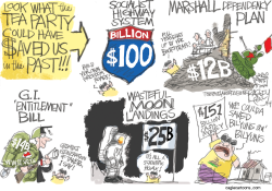 Deficit Hawks by Pat Bagley