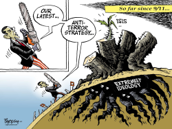 Anti-terror strategy  by Paresh Nath