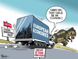 Eurozone and Deflation  by Paresh Nath