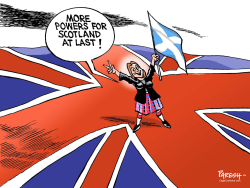 Scotland stays in UK by Paresh Nath