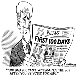 John Kerry Wishes Voters Could Vote Against Bush After Voting For Him by RJ Matson