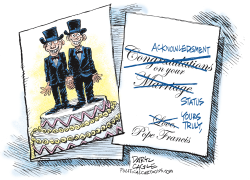 The Vatican and Gay Marriage  by Daryl Cagle