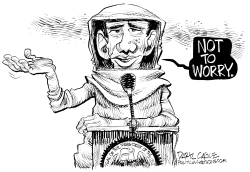 Ebola - Not to Worry by Daryl Cagle