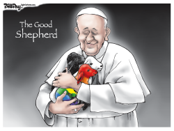 THE GOOD SHEPHERD  color by Bill Day