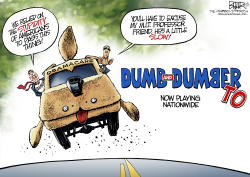 Dumb and Dumber  by Nate Beeler