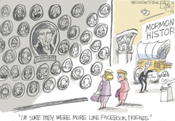 Joseph Smith Wives by Pat Bagley