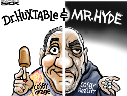 Cosby Monster  by Steve Sack