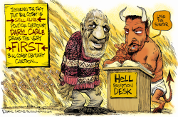 Bill Cosby  by Daryl Cagle