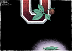 LOCAL OH - Fallen Buckeye  by Nate Beeler