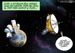 Pictures from Pluto  by Nate Beeler