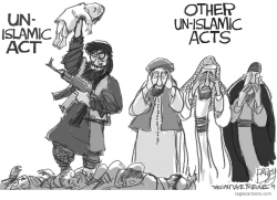 Un-Islamic Acts by Pat Bagley