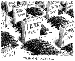 Taliban Schoolyard by Adam Zyglis