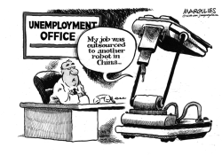 Robots in the workforce by Jimmy Margulies