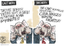Torture and Cuba  by Pat Bagley