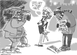Incitement to Violence by Pat Bagley