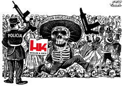 Heckler  Koch in Mexico by Rainer Hachfeld