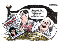 Teresa Giudice goes to jail color by Jimmy Margulies