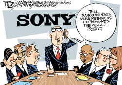 Sony - Uh oh  by David Fitzsimmons