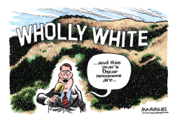 Oscar nominees lack diversity color by Jimmy Margulies