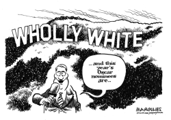 Oscar nominees lack diversity by Jimmy Margulies