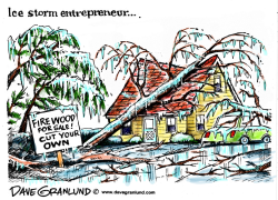 Ice storm by Dave Granlund