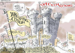 Anti-Vaxxers  by Pat Bagley