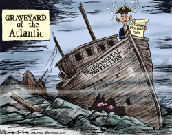 Graveyard of the Atlantic by Kevin Siers