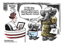 Republican vaccinations color by Jimmy Margulies