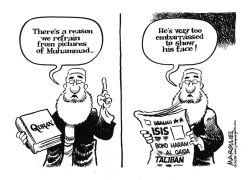 Pictures of Muhammad by Jimmy Margulies