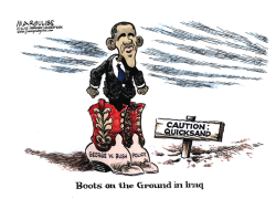 Obama war powers color by Jimmy Margulies