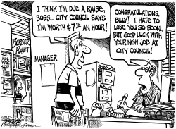 Living Wage by John Trever