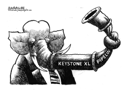 Obama vetoes Keystone XL Pipeline by Jimmy Margulies