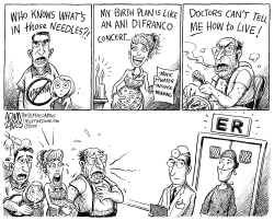 Flooding the ER by Adam Zyglis
