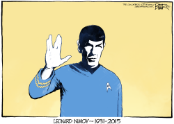 Live Long and Prosper  by Nate Beeler