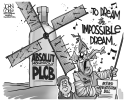 LOCAL PA -- PLCB privatization BW by John Cole