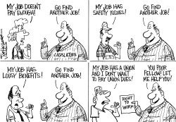 Right to work by Joe Heller