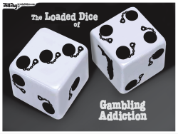 local FL  Ball and Chain Dice  color by Bill Day