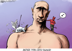 Angels and Putins  by Nate Beeler