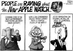 Apple Watch by Nate Beeler