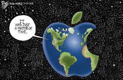 Apple World by Bruce Plante