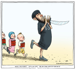 islamic state recruitment by Joep Bertrams