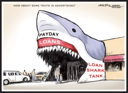 Payday Loan Shark by J.D. Crowe