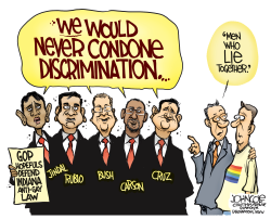 GOP and RFRA  by John Cole