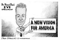 Rand Paul 2016 by Dave Granlund