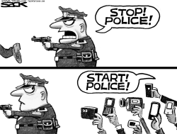 Cop Cam by Steve Sack