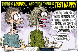 Test Happy  by Wolverton