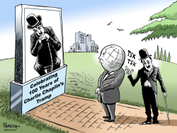 Chaplin Films 100 years  by Paresh Nath