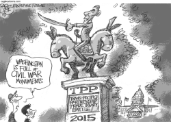 Trans Pacific Trade Deal by Pat Bagley