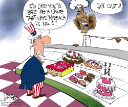 Biased Baker Obama  by Gary McCoy